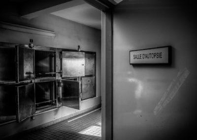 Morgue d'un hôpital abandonné, France