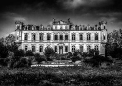 Château à l'abandon, France