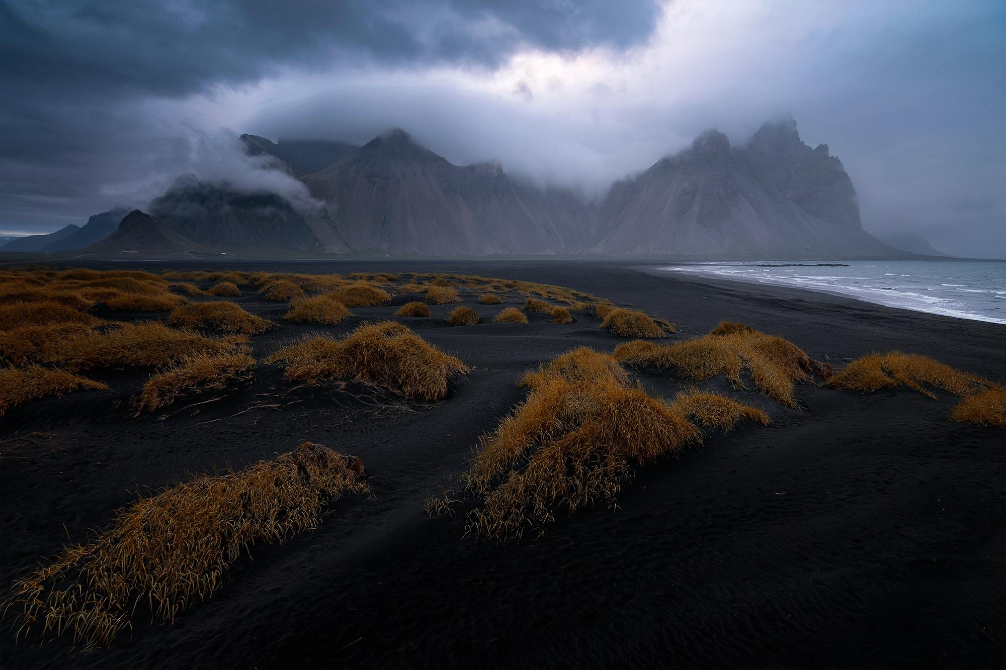Vestrahorn, Stockness, Hofn, Islande