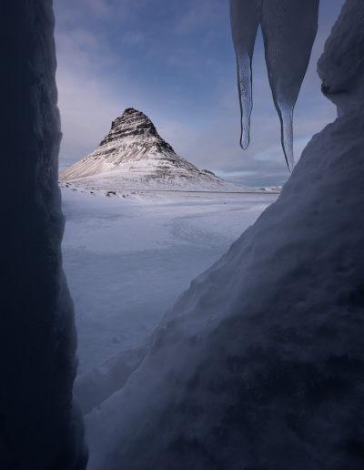Kirkjufell ice cave