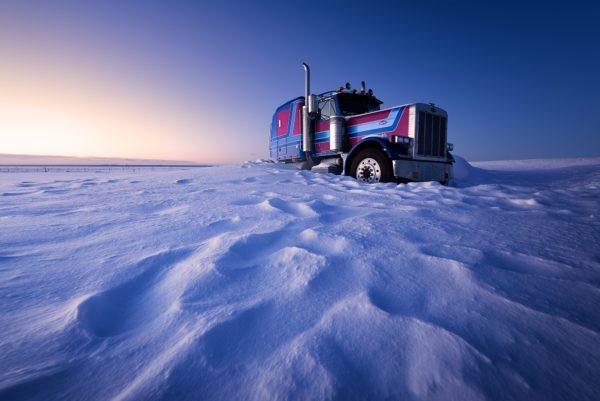 Camion Peterbilt, Islande