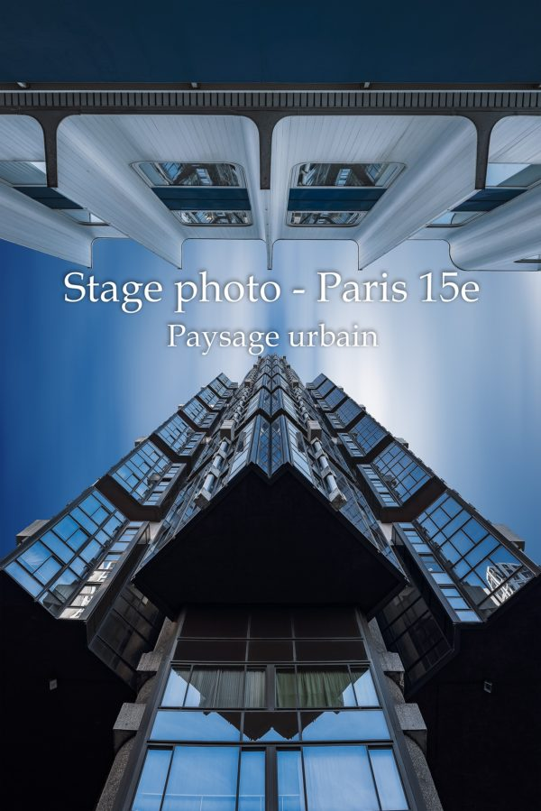 Stage photo, Beaugrenelle, Paris