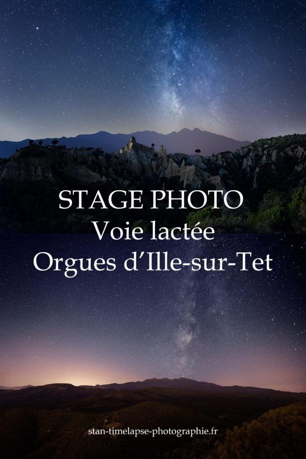 Stage voie lactée orgues d'ille-sur-tet produit